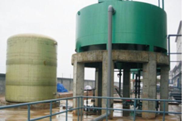 污酸污水处理现场