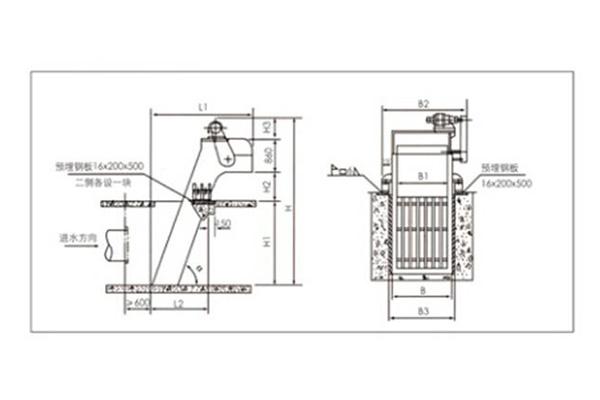 XGH回转式机械格栅除污机